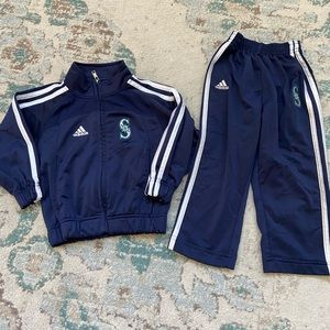 Adidas Seattle Mariners Track Suit Size 2T